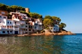 Картинка побережье, Испания, набережная, Spain, Средиземное море, Costa Brava, Коста-Брава
