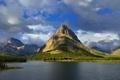 Картинка природа, пейзаж, glacier national park