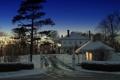 Картинка canada, charlottetown, зима, дом, утро
