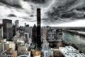 Картинка New York City, Queensboro Bridge, long exposure, United States UN Mission