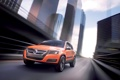 Картинка дорога, оранжевый, город, volkswagen