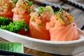 Картинка рыба, rolls, sushi, суши, fish, роллы, японская кухня