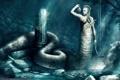 Картинка змеи, Медуза, хвост, Mike Nash