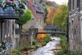Картинка город, река, фото, дома, Германия, Штольберг