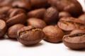 Картинка кофе, зёрна, макро