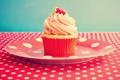 Картинка стол, пирожное, vintage, десерт, винтаж, cupcake, кекс