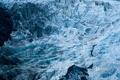 Картинка лед, пейзаж, склон, Новая Зеландия, путешественники, альпинисты, ледник Франца-Иосифа