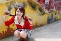 Картинка девушка, настроение, азиатка
