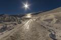 Картинка зима, дорога, снег, лёд
