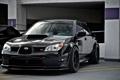Картинка чёрный, Subaru, Impreza, black, wrx, субару, sti