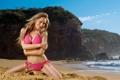 Картинка море, лето, девушка, бикини