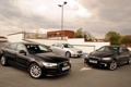 Картинка Audi, Mercedes-Benz, Ауди, BMW, Мерседес, БМВ, передок