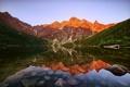 Картинка горы, озеро, утро, Карпаты, Татры, Морске Око