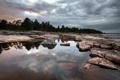 Картинка природа, озеро, камни