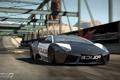 Картинка мост, скорость, полиция, погоня, Lamborghini Reventon, need for speed shift 2