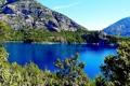 Картинка деревья, горы, озеро, скалы, Аргентина, Moreno Lake