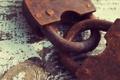 Картинка padlock, metal, rust