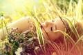 Картинка лето, девушка, свет, красота