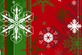 Картинка Флаг, Рождество, Снежинки, Ёлка