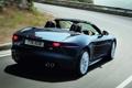 Картинка дорога, авто, черный, Jaguar, задок, F-Type, V8 S