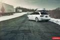 Картинка снег, Авто, Машина, AUDI, Auto, Vossen, Wheels