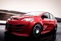 Картинка драйв, скорость, трасса, тачка, Kesselman Motorsport Mazda CX-7