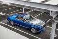 Картинка Синий, Phantom, Машина, Капот, Rolls Royce, Купэ, Вид с верху