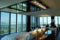 Картинка дизайн, стиль, интерьер, балкон, пентхаус, мегаполис, жилая комната