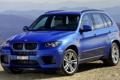 Картинка горы, синий, фон, BMW, джип, БМВ, передок