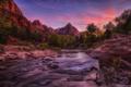Картинка пейзаж, горы, природа, река, каньон