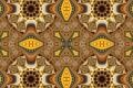 Картинка свет, узор, цвет, текстура, симметрия