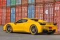 Картинка Авто, Желтый, Машина, spider, Ferrari, 458, Italia