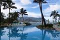 Картинка пейзаж, природа, пальмы, бассейн