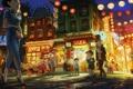 Картинка улица, чайнатаун, professor layton