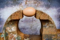 Картинка яйцо, ржавчина, тиски