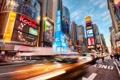 Картинка америка, центр, нью йорк, Action of New York City
