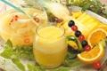 Картинка стакан, сок, фрукты
