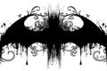 Картинка batman, рисунок, логотип, мышь, летучая