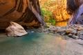 Картинка горы, камни, река, деревья, природа