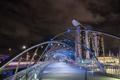 Картинка Singapore, Marina Bay, Helix Bridge