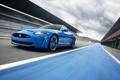Картинка синий, jaguar, XKR-S