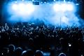 Картинка lights, blue, people, concert, shades