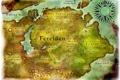 Картинка карта, ферелден, dragon age, concept art, origins