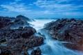 Картинка вода, скалы, Wales, Bardsey Island
