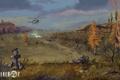 Картинка вертолет, stalker, припять, зона