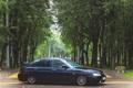 Картинка машина, авто, деревья, фонарь, Lada, auto, 2112
