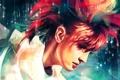 Картинка девушка, арт, профиль, рыжая