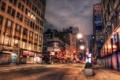 Картинка ночь, нью-йорк, night, NYC, new york, Midtown, Broadway