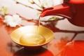Картинка цветы, красный, чай, разное