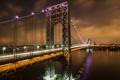 Картинка мост, город, река